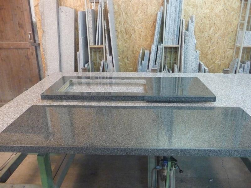 Sie sehen Bilder zu folgendem Artikel: Verkleidung einer Küchenarbeitsplatte mit New Impala